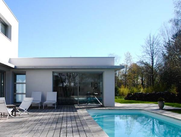 maison en lotissement christophe le moing architecte dplg lorient. Black Bedroom Furniture Sets. Home Design Ideas