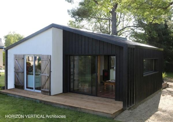 la cabane horizontal vertical architectes. Black Bedroom Furniture Sets. Home Design Ideas