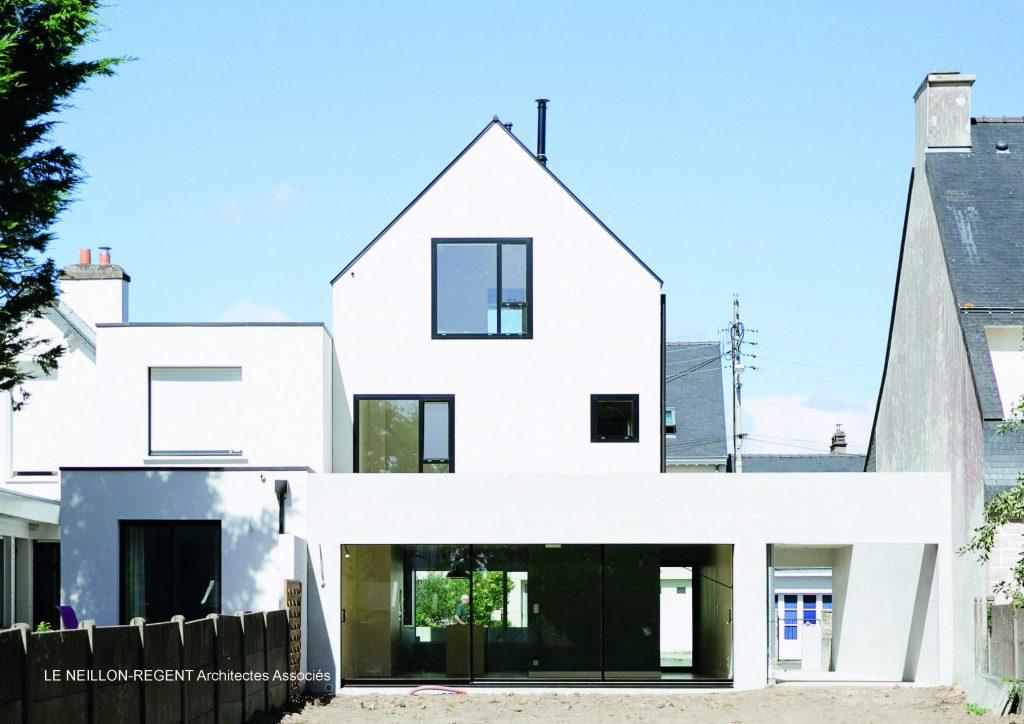 Conseil formation sensibilisation l 39 architecture morbihan for Prix construction maison neuve architecte